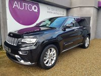 2016 JEEP GRAND CHEROKEE 3.0 V6 CRD SUMMIT 5d AUTO 247 BHP £29995.00