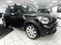 2013 MINI COUNTRYMAN 2.0 COOPER SD CHILLI PK 141 BHP £9950.00
