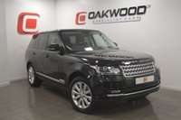 USED 2014 14 LAND ROVER RANGE ROVER 3.0 TDV6 VOGUE 5d AUTO 258 BHP FULL PANORAMIC GLASS ROOF + BLACK LEATHER + FSH