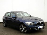 USED 2014 14 BMW 1 SERIES 2.0 118D SPORT 5d AUTO 141 BHP STUNNING LOW MILEAGE EXAMPLE