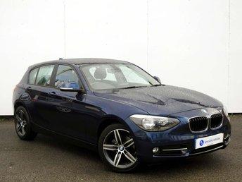 2014 BMW 1 SERIES 2.0 118D SPORT 5d AUTO 141 BHP £12995.00