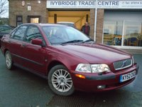 2002 VOLVO S40 1.8 S 4d AUTO 122 BHP £SOLD