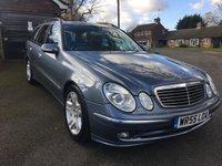 2005 MERCEDES-BENZ E CLASS 3.2 E320 CDI AVANTGARDE 5d AUTO 204 BHP £3995.00