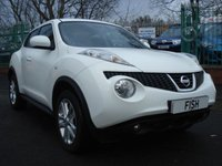 USED 2012 NISSAN JUKE 1.5 ACENTA PREMIUM DCI 5d 110BHP 2KEYS+FSH+STANAV WITH SD CARD+