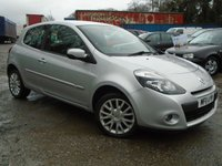 USED 2011 11 RENAULT CLIO 1.1 DYNAMIQUE TOMTOM 16V 3d 75 BHP GREAT VALUE NEW SHAPE CLIO