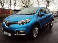USED 2013 63 RENAULT CAPTUR 1.5 EXPRESSION PLUS ENERGY DCI S/S 5d 90BHP 2KEYS+1FORM KEEPER+0 ROAD TAX+