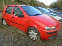 USED 2003 53 FIAT PUNTO 1.2 5000000 5d 59 BHP MOT 27TH OCTOBER+CHEAP TO RUN