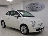 USED 2014 14 FIAT 500 1.2 LOUNGE 3d 69 BHP Superb, Pan Roof, 1 Owner, £30 Road Tax, 1 Yr RAC Warranty
