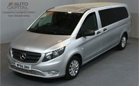 USED 2016 66 MERCEDES-BENZ VITO 2.1 114 BLUETEC TOURER SELECT 5d 9SEAT LWB 136 BHP AUTOMATIC EURO 6  A/C  RWD ONE OWNER FROM NEW, FULL SERVICE HISTORY