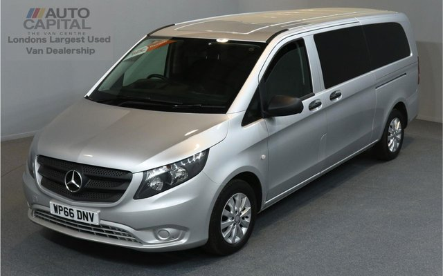 2016 66 MERCEDES-BENZ VITO 2.1 114 BLUETEC TOURER SELECT 5d 9SEAT LWB 136 BHP AUTOMATIC EURO 6  A/C  RWD ONE OWNER FROM NEW, FULL SERVICE HISTORY