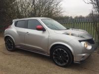 2013 NISSAN JUKE 1.6 DIG-T Nismo M-CVT 4WD 5dr £12495.00
