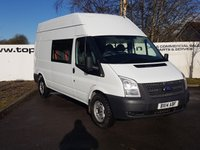 2014 FORD TRANSIT 350 2.2 125 BHP RWD H/R 9 SEATER **70 VANS IN STOCK** £8450.00