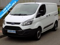 2015 FORD TRANSIT CUSTOM L1H1 290 SWB LOW ROOF 2.2 100BHP £9995.00