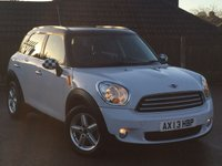2013 MINI COUNTRYMAN 1.6 COOPER D 5d 112 BHP £8995.00