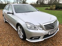 2009 MERCEDES-BENZ E CLASS 2.1 E250 CDI BLUEEFFICIENCY SPORT 4d AUTO 204 BHP £12000.00