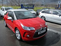 USED 2013 13 CITROEN DS3 1.6 E-HDI DSTYLE 3d 90 BHP FREE ROAD TAX,VERY ECONOMICAL !!