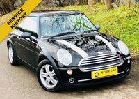 2005 MINI HATCH ONE 1.6 ONE 3d 89 BHP £2195.00