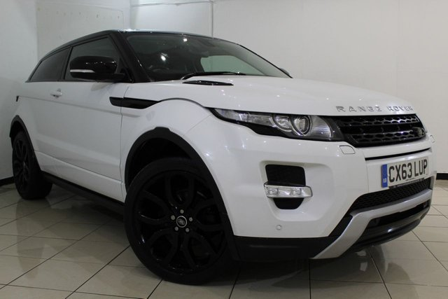 View our 2013 63 LAND ROVER RANGE ROVER EVOQUE 2.2 SD4 DYNAMIC 3DR AUTOMATIC 190 BHP