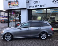USED 2012 62 MERCEDES-BENZ C CLASS 2.1 C220 CDI BLUEEFFICIENCY AMG SPORT 5d AUTO 168 BHP