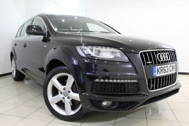 View our 2013 63 AUDI Q7 3.0 TDI QUATTRO S LINE 5DR AUTOMATIC 245 BHP
