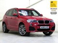 2015 BMW X3 2.0 XDRIVE20D M SPORT 5d AUTO 188 BHP [HUGE SPEC] £25487.00