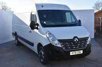 USED 2016 16 RENAULT MASTER 2.3 LML35 BUSINESS DCI S/R P/V DRW 1d 125 BHP BRILLIANT METALLIC SILVER