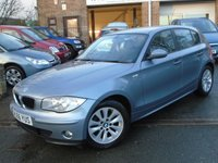 2006 BMW 1 SERIES 1.6 116I SE 5d 114 BHP £2995.00