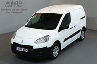 USED 2014 14 PEUGEOT PARTNER 1.6 HDI PROFESSIONAL L1 850 5d 89 BHP SWB A/C ELECTRIC WINDOWS MIRRORS ONE OWNER FROM NEW