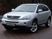 2008 LEXUS RX 3.3 400H SE CVT 5d AUTO 208 BHP £7844.00