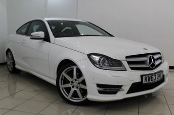 2014 MERCEDES-BENZ C CLASS 2.1 C220 CDI BLUEEFFICIENCY AMG SPORT 2DR AUTOMATIC 170 BHP £13840.00