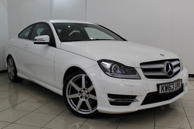 View our 2014 63 MERCEDES-BENZ C CLASS 2.1 C220 CDI BLUEEFFICIENCY AMG SPORT 2DR AUTOMATIC 170 BHP
