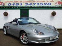 2003 PORSCHE BOXSTER 3.2 24V S 2d 260 BHP £7499.00