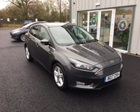 USED 2017 17 FORD FOCUS 1.0 TITANIUM ECOBOOST 125 BHP THIS VEHICLE IS AT SITE 1 - TO VIEW CALL US ON 01903 892224