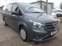 2017 MERCEDES-BENZ VITO 114 BLUETEC TOURER PRO 9 SEATER TRAVELINER, 136 BHP [EURO 6], LOW MILES, AIR CON £19995.00