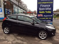 USED 2012 12 FORD FIESTA 1.2 ZETEC 3d 81 BHP, only 46000 miles ***GREAT FINANCE DEALS AVAILABLE***