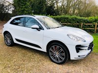 "USED 2014 14 PORSCHE MACAN 3.6 TURBO PDK 5d AUTO 400 BHP Bose, Heated steering, 21"" Turbo wheels, Rear Camera, ETC,ETC....."