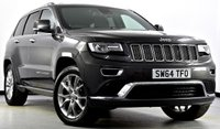 USED 2015 64 JEEP GRAND CHEROKEE 3.0 CRD Summit 4x4 5dr Auto Pan Roof, Hot/Cold Seats, Nav+