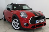 USED 2015 65 MINI HATCH COOPER 1.5 COOPER D 3DR 114 BHP FULL SERVICE HISTORY + MINI NAVIGATION SYSTEM + JOHN COOPER WORKS INTERIOR PACK + JOHN COOPER AERODYNAMICS KIT + BLUETOOTH + CRUISE CONTROL + MULTI FUNCTION WHEEL + CLIMATE CONTROL + AUXILIARY PORT + 15 INCH ALLOY WHEELS