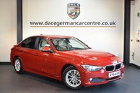 USED 2015 64 BMW 3 SERIES 2.0 320D EFFICIENTDYNAMICS BUSINESS 4DR AUTO 161 BHP + FULL CREAM LEATHER INTERIOR + FULL BMW SERVICE HISTORY + 1 OWNER FROM NEW + SATELLITE NAVIGATION + HEATED SEATS + CRUISE CONTROL + RAIN SENSORS + CLIMATE CONTROL + PARKING SENSORS + 16 INCH ALLOY WHEELS +