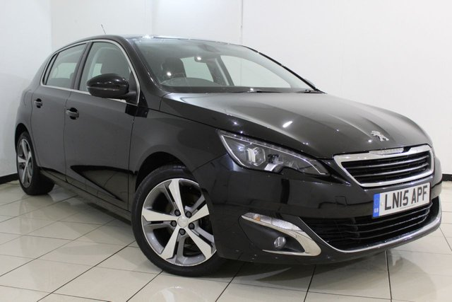 View our 2015 15 PEUGEOT 308 1.6 HDI S/S ALLURE 5DR 115 BHP
