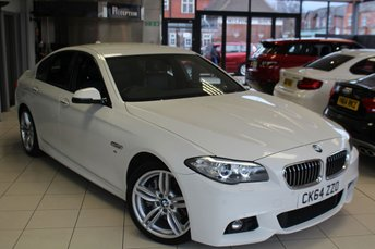 2014 BMW 5 SERIES 3.0 530D M SPORT 4d AUTO 255 BHP £18340.00