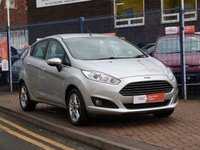 USED 2013 13 FORD FIESTA 1.2 ZETEC 5d  AIR CONDITIONING ~ FULL SERVICE HISTORY ( 3 FORD SERVICES ) ~ £30 ROAD TAX ~ ONE OWNER ~ ALLOY WHEELS