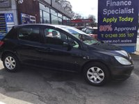 USED 2004 54 PEUGEOT 307 1.6 S 5d 108 BHP, 92000 miles ***GREAT FINANCE DEALS AVAILABLE***