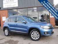 USED 2014 14 VOLKSWAGEN TIGUAN 2.0 MATCH TDI BLUEMOTION TECH 4MOTION DSG 5d AUTO 139 BHP 6 MONTHS RAC MECHANICAL AND ELECTRICAL WARRANTY WITH 12 MONTHS COMPLIMENTARY RAC BREAKDOWN COVER