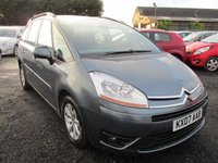 USED 2007 07 CITROEN C4 GRAND PICASSO 1.8 VTR PLUS 16V 5DR 7 SEATS FSH 7 SEVEN SEATER FULL SERVICE HISTORY