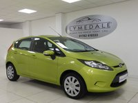 2010 FORD FIESTA 1.4 EDGE 5d 96 BHP £3290.00