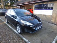 USED 2015 64 FORD FIESTA 1.5 ZETEC TDCI 5d 74 BHP 1 OWNER FROM NEW, FULL FORD SERVICE HISTORY, 2 KEYS