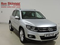 USED 2015 65 VOLKSWAGEN TIGUAN 2.0 MATCH EDITION TDI BMT 5d 148 BHP