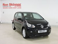USED 2014 14 VOLKSWAGEN UP 1.0 HIGH UP 3d 74 BHP