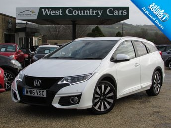 2016 HONDA CIVIC 1.8 I-VTEC EX PLUS TOURER 5d AUTO 140 BHP £16000.00
